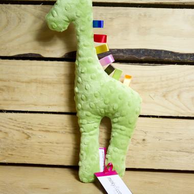 Żyrafka Minky - Hipcie Maskotka, zabawka dla niemowlaka.