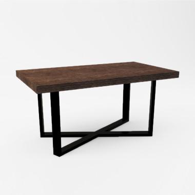 Stolik kawowy MERLIN. Prosta forma stolika łączy w sobie minimalistyczny styl skandynawski z surowością industrialnych wnętrz.
