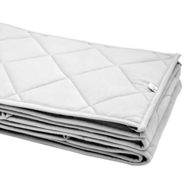 Ochraniacz pikowany na łóżeczko 60x120 szary
