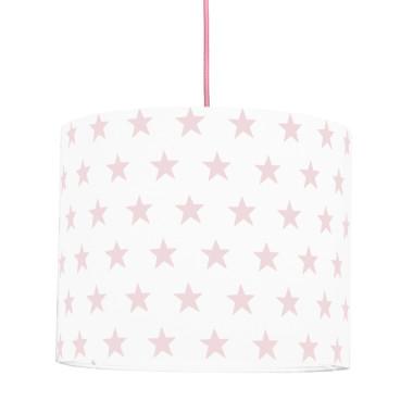 Lampa sufitowa mini Gwiazdki różowe
