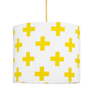 youngDECO lampa sufitowa MINI krzyżyki żółte 1