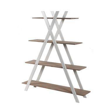 Regał drewniany X4