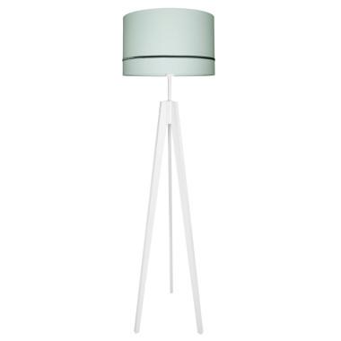 youngDECO lampa podłogowa trójnóg porcelanowa mięta