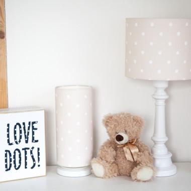 Lampa stojąca Lovely Dots Beige