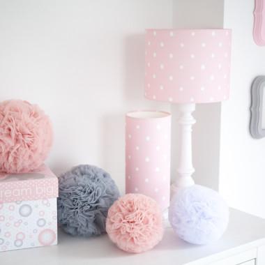 Lampa stojąca Lovely Dots Pink (2)
