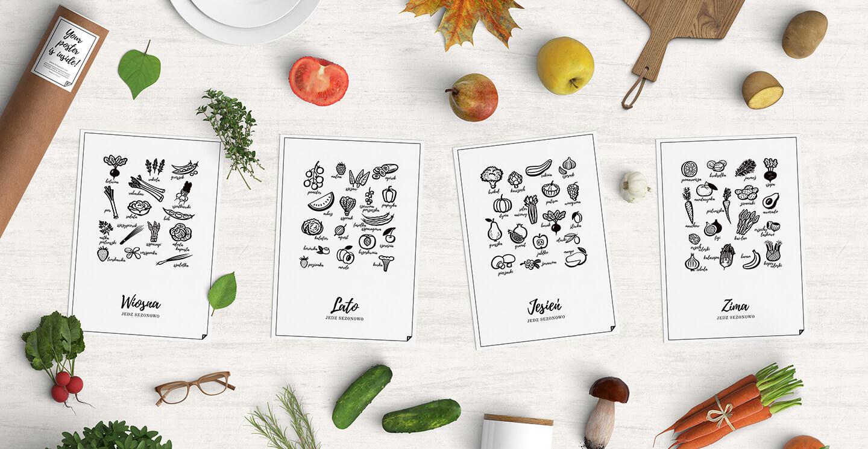 plakaty do wydruku kuchnia i dieta  plakatówka