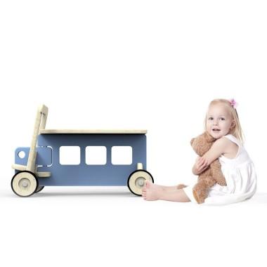 Auto Benek - jeżdzik na skrętnych kołach. Przeznaczony dla dzieciaczków stawiających swoje pierwsze kroczki.