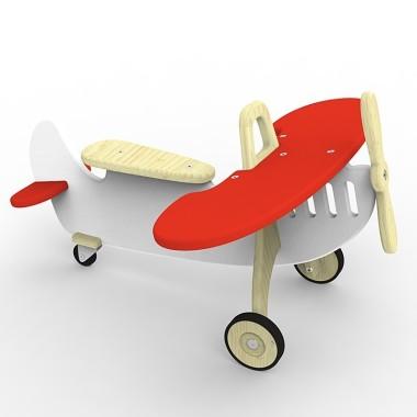 jeździk-samolot MARIAN czewony