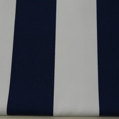Zasłona Granatowe pasy 8 cm