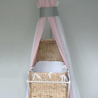 Flaming - baldachim do łóżeczka niemowlęcego