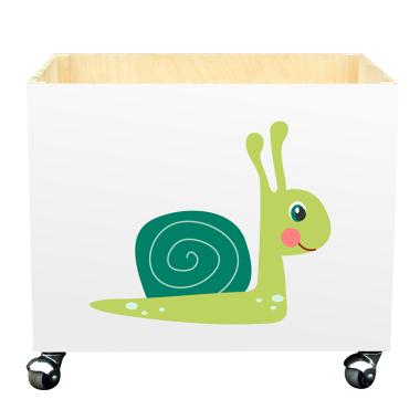Skrzynka na zabawki do pokoju dziecka- Ślimak