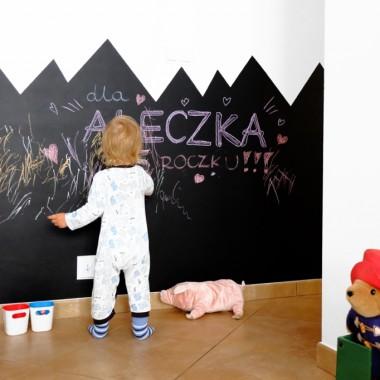 GÓRY - tablica dla dzieci na ścianę w kształcie gór