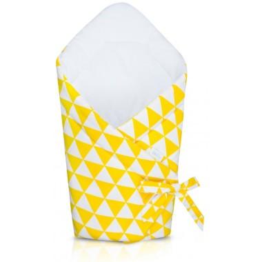 Rożek Niemowlęcy żółte trójkąty.