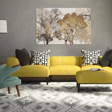 Energia spokoju - nowoczesny obraz do sypialni