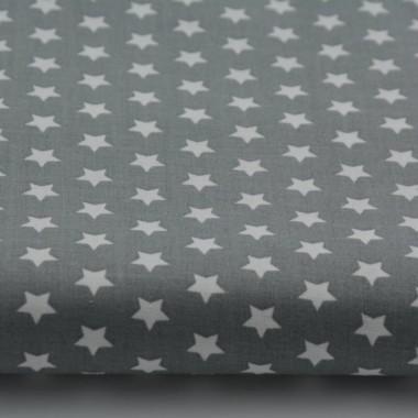 Zasłona Gwiazdki 10mm na ciemnym szarym