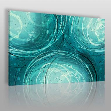 Lazur oceanu - nowoczesny obraz na płótnie