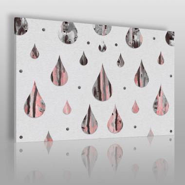 Kamienne łzy - nowoczesny obraz na płótnie