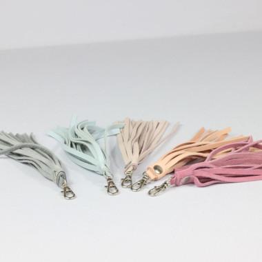 Frędzel – brelok skórzany do torebki