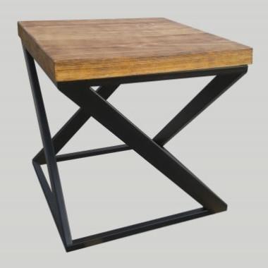 Stolik kawowy RYMDEN - blat 4 cm