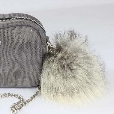Pompon – brelok futrzany do torebki
