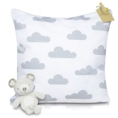 Poduszki dekoracyjne w chmurki