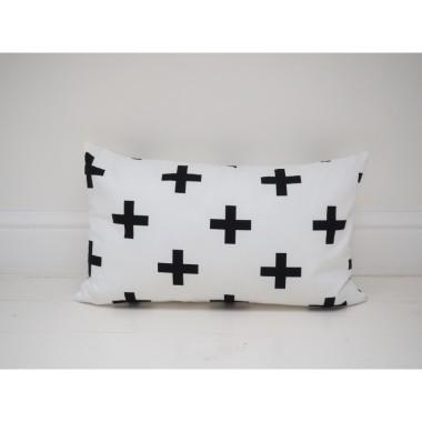 Prostokątna poduszka plusy