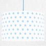 youngDECO lampa sufitowa gwiazdki błękitne 2