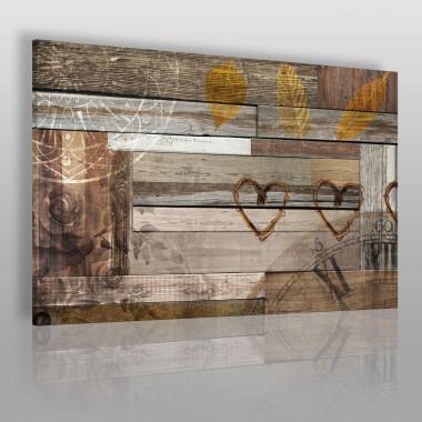 Ścianka z desek, piękna iluzja, zwłaszcza do loftu.