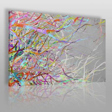 Kolorowa grafika. Przeplatające się wzory w pięknych, żywych kolorach.