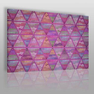 Mocna grafika – kompozycja geometryczna z trójkątami.