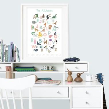 Seria plakatów edukacyjnych dla dzieci