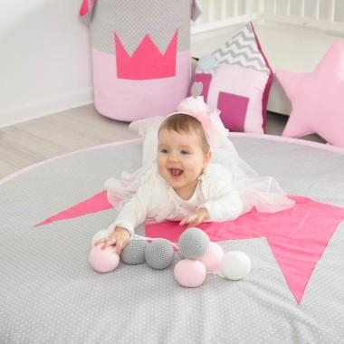Pościel i akcesoria Princessa. Do pokoju dziecięcego.