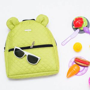 FARBIŚ - plecak dziecięcy pikowany limonkowy
