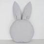 Poduszeczka dla dzieci króliczek w kolorze szarym