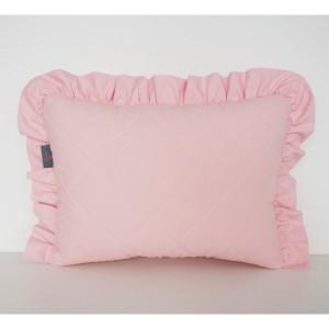 Różowa pikowana poduszeczka dla dziecka