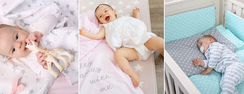 Jak urządzić łóżeczko dla dziecka – wybieramy kołderkę, poduszkę i otulacz