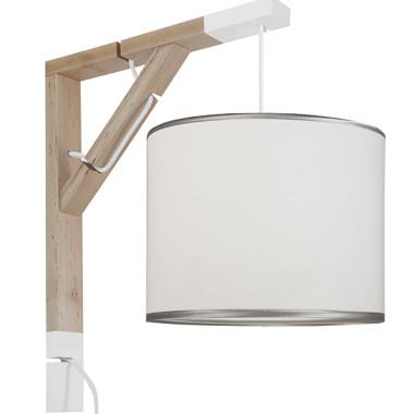 Lampa typu kinkiet nad biurko, idealne oświetlenie do pracy lub czytania lub pokoju dziecięcego.