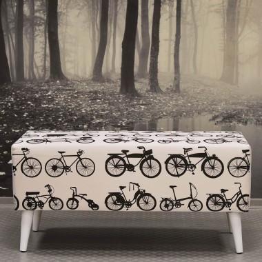 Ławka Bike biała