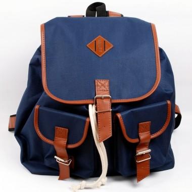 Plecak Nuff - navy & brown