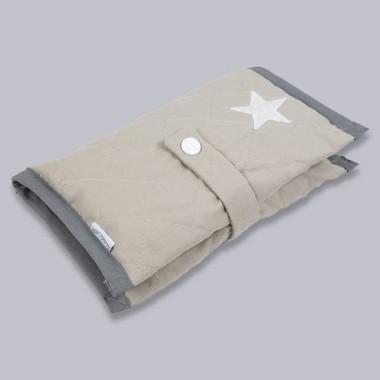 Gwiazda - etui na pieluszki i chusteczki dla niemowląt