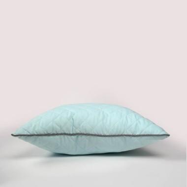 Cyrk - poduszka ozdobna pikowana mięta
