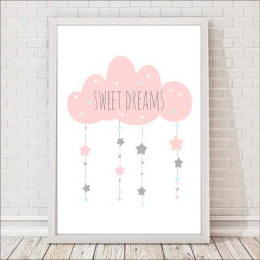 sweet dreams biale tło