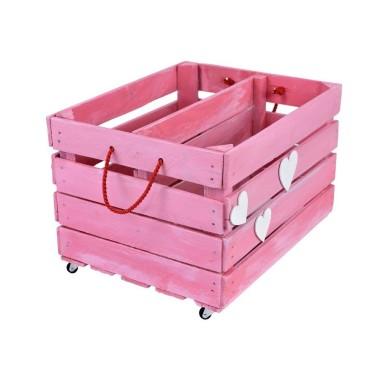 Taki kontenerek to sposób na przechowanie i transport drobnych zabawek.