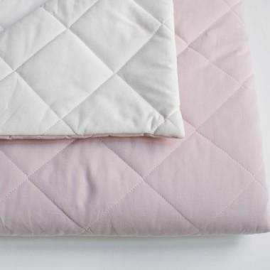 Mata do namiotu dziecka/tipi lub dywanik w kolorze śmietanki+ brudny róż-dwustronna
