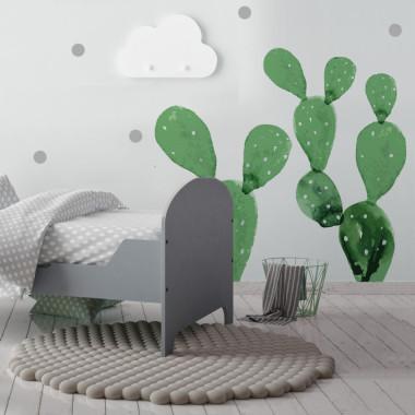 """Duża ale nie przytłaczająca dekoracja. Jest świetnym tłem do tipi lub łóżka. """"Rośnie"""" od podłogi w pokoju dziecka."""