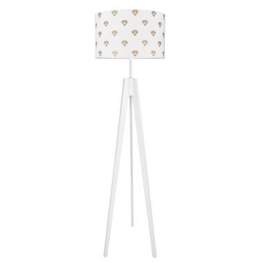 youngDECO lampa podłogowa trójnóg diamenty