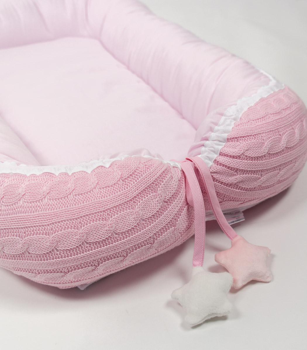 Malmo pink dwustronny kokon dla noworodka otulacz for Kokon kokon