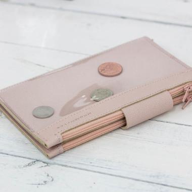Sprytny wielofunkcyjny portfel unisex - organizer, w którym schowasz wszystkie swoje najpotrzebniejsze rzeczy.