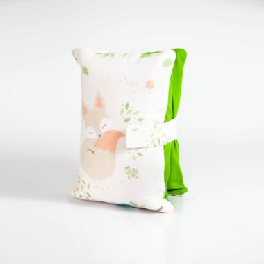 Etui, torebka na pieluchy i chusteczki - lisek
