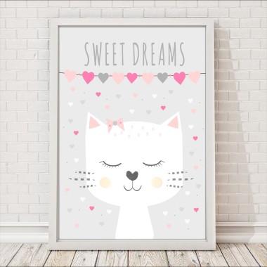 Kotek sweet dreams SERDUSZKA